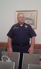 Police Chief Terry Davis