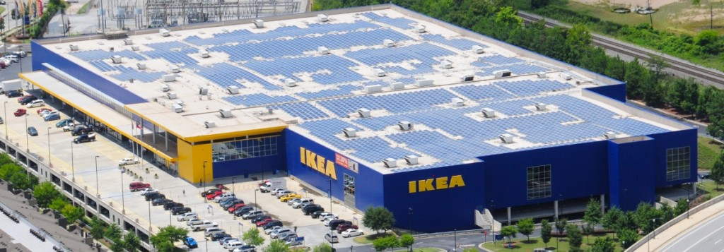 Ikea Building Almost As Much Solar As Southern Company On The Lake
