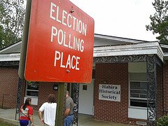 Election Polling Place: Hahira Historical Society