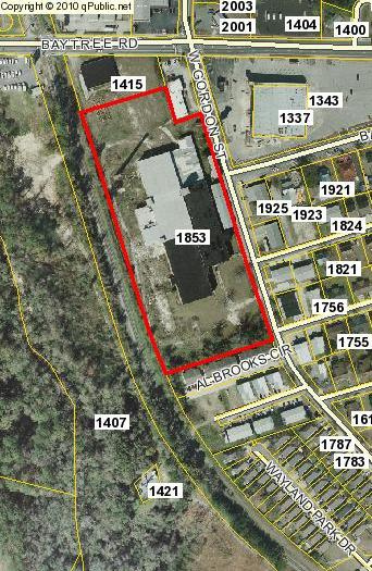 Remerton Mill Map by Lowndes County Tax Assessor database