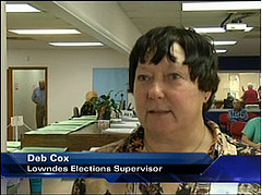 Deb Cox, Lowndes County Elections Supervisor