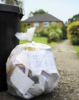 VDT picture of bag of solid waste