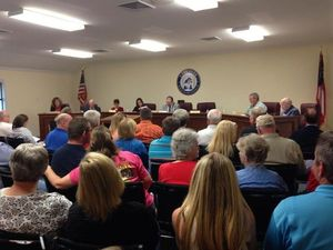 300x225 Crowd, in Lake Park City Council, by Gretchen Quarterman, for Lowndes Area Knowledge Exchange, 1 April 2014