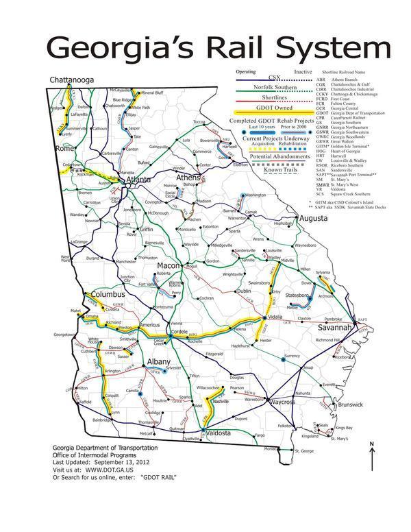 Gretchen On WCTV About Georgia State Rail Plan Gretchen For Lowndes - Georgia map traffic