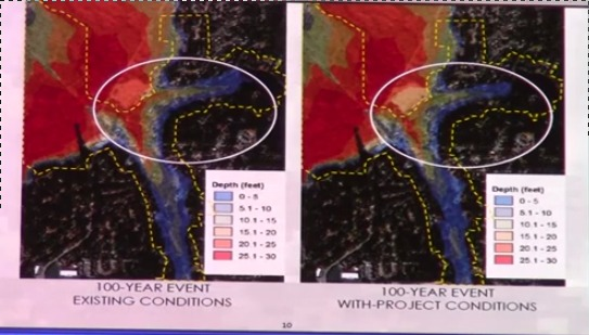 Compare, in Flooding Study --Army Corps of Engineers at Valdosta City Council, by Gretchen Quarterman, for Lowndes Area Knowledge Exchange, 6 May 2014