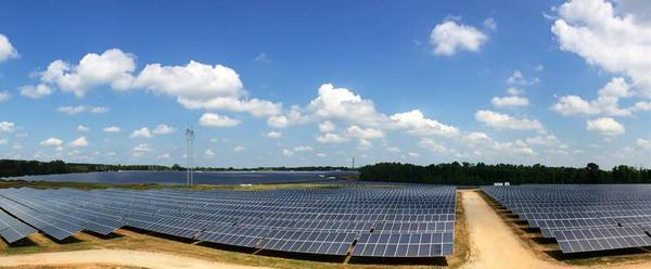 600x248 Panels, in Simon Solar Ribbon Cutting, by Bryan Casey, for Lowndes Area Knowledge Exchange (LAKE), 13 May 2014