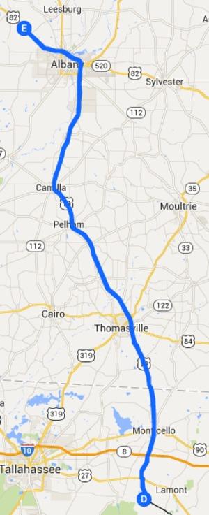 300x737 Armena, GA to Capps, FL, in Alternative 3: Armena to Capps to FGT FERC to Sabal Trail, by John S. Quarterman, 14 September 2014