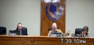 300x146 Chairman Phil Oxendine saying Suwannee County is considerihng action about the Sabal Trail pipeline, in Duke Suwannee new turbine resolution sails through Suwannee County Commission, by John S. Quarterman, 2 September 2014