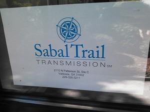 300x225 Sign on door, in Sabal Trail Valdosta office, by John S. Quarterman, 17 June 2014