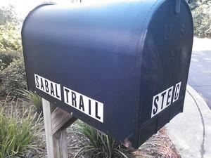 300x225 Mailbox, in Sabal Trail Valdosta office, by John S. Quarterman, 17 June 2014