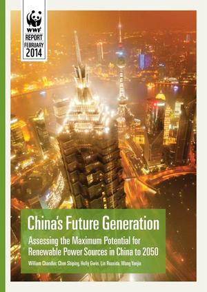 300x424 Cover, in China's Future Generation, by WWF, February 2014