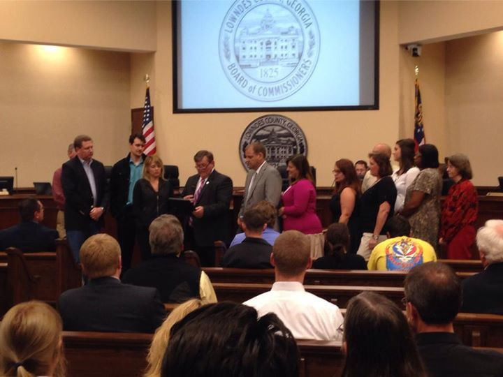 720x540 Parks and Rec proclamation, in Lowndes County Commission Regular Session, by Gretchen Quarterman, 11 November 2014