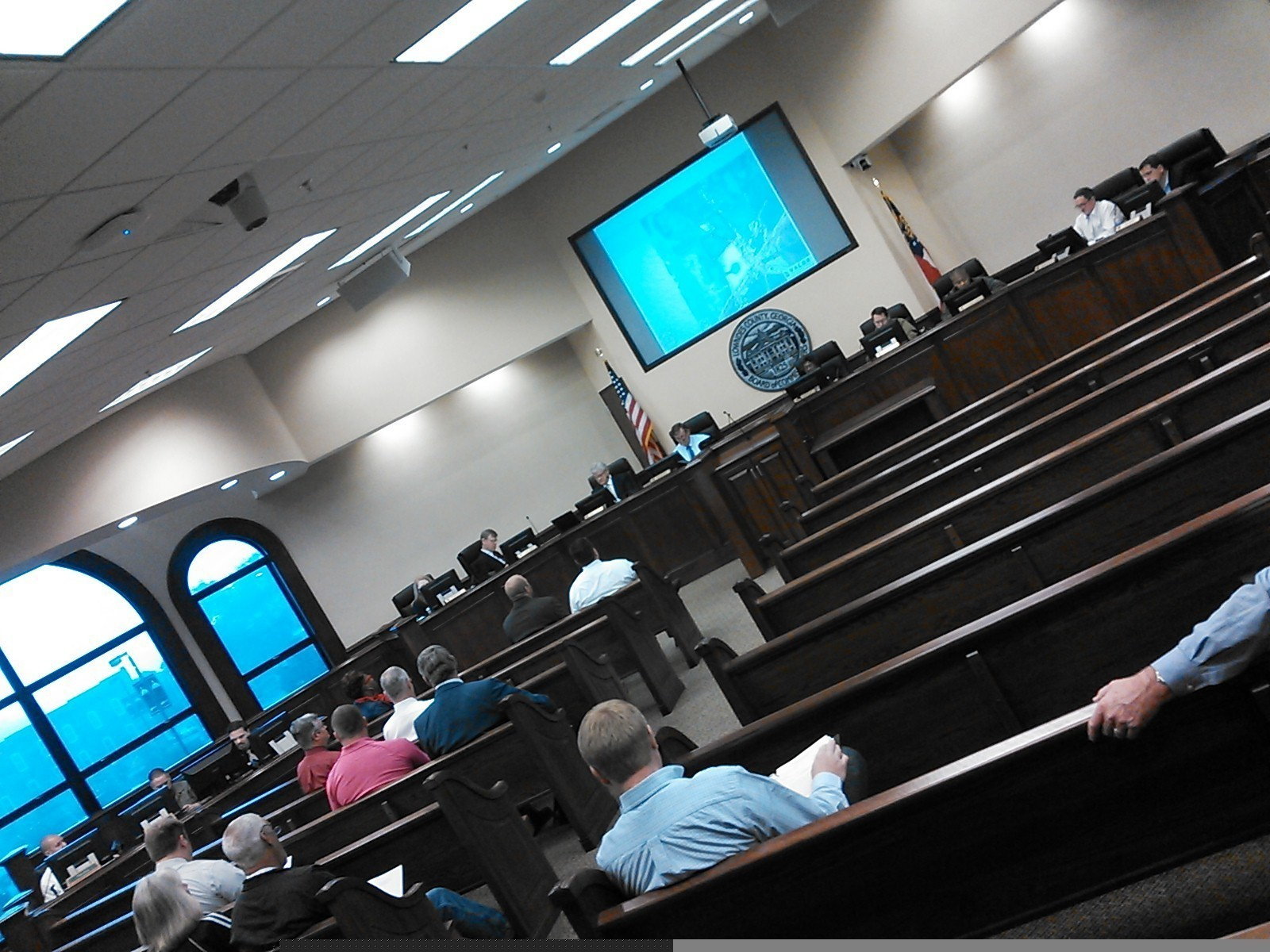 REZ-2014-17 Grand Bay Estates, in Lowndes County Commission Work Session, by John S. Quarterman, 10 November 2014
