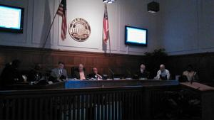 300x169 Council discussing the resolution, in Valdosta Draft Resolution Against Sabal Trail Pipeline, by Valdosta City Council, 10 December 2014