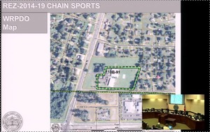300x189 Rezoning map with inset video of Commission, in Loco videos, by John S. Quarterman, 9 December 2014