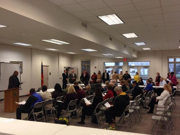 600x450 Crowd picture, in ESPLOST Kickoff and Press Conference, by Gretchen Quarterman, 24 February 2015