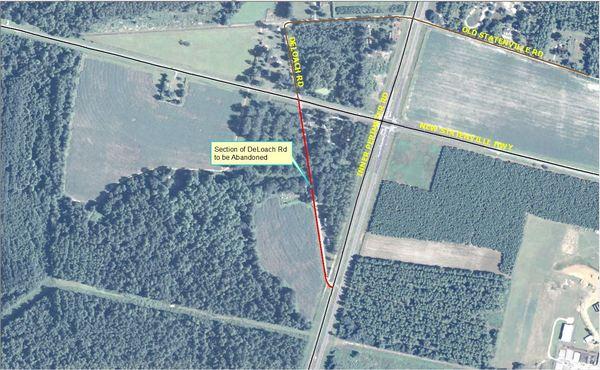600x370 DeLoach Road, in Maps from board packet, by John S. Quarterman, 10 February 2015