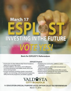 300x388 Basis for ESPLOST Referendum, in ESPLOST Kickoff and Press Conference, by Gretchen Quarterman, 24 February 2015