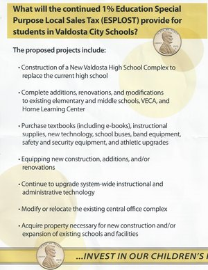 300x388 ESPLOST Proposed Projects, in ESPLOST Kickoff and Press Conference, by Gretchen Quarterman, 24 February 2015