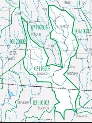 300x399 HUC 03110203 Withlacoochee River Detail, in Suwannee Region HUC, by USGS, 14 June 2015