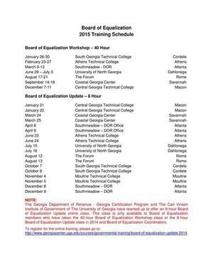 300x388 LGS GCP Board Of Equalization Schedule-001, in Georgia Certification Program Board of Equalization Schedule, by Georgia Department of Revenue, 30 July 2015