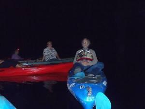 300x225 Night lights, in Banks Lake Full Moon, by John S. Quarterman, 13 June 2014