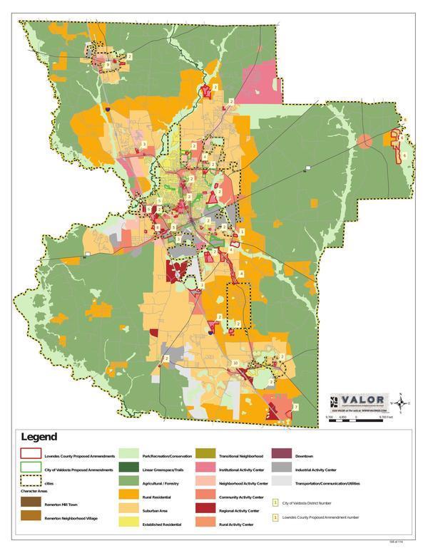 Future Development Map