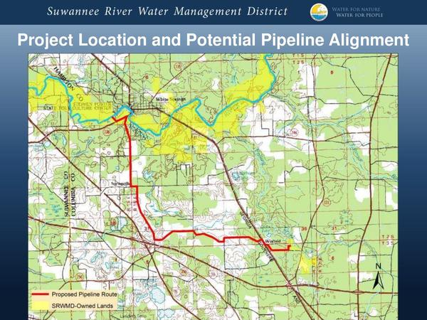 Project Location and Potential Pipeline Alignment