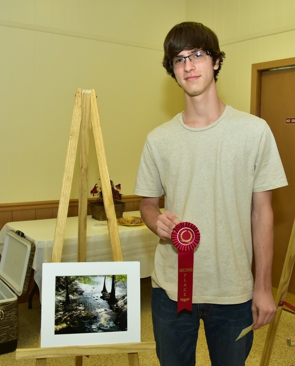 Second Place, Ben Bowman from Branford High School