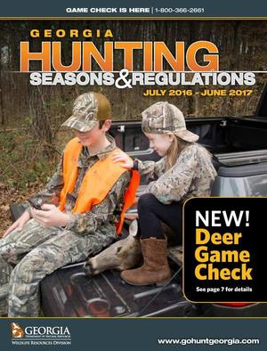 WMA check-in hunt does not count towards Georgia bag limit | WWALS