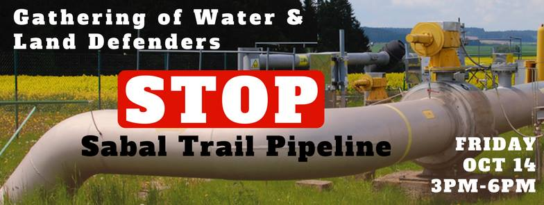 784x295 At FPL HQ, Juno Beach, FL, in Rush Hour Rally to Stop Sabal Trail Pipeline, by Dawn Abate, 14 October 2016