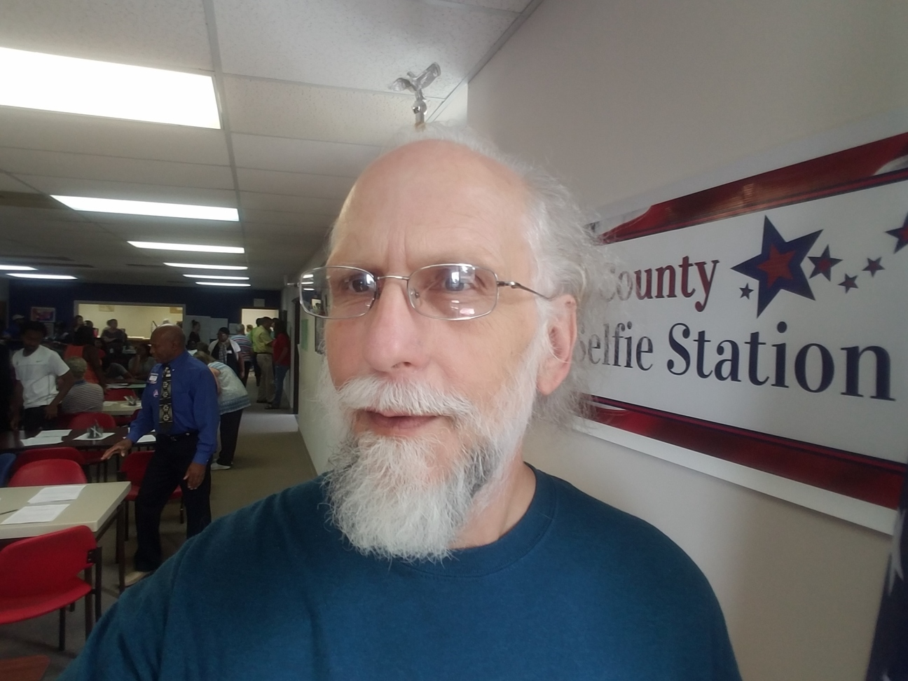 1296x972 Lots of voters, in Voted, by John S. Quarterman, 4 November 2016
