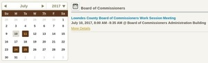 300x92 Look closely: 8:00 AM, not 8:30 AM, in Lowndes County Commission changes time of Work Session, by County Clerk Paige Dukes, 10 July 2017