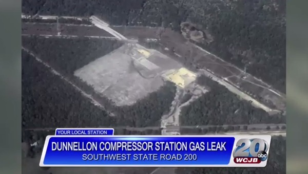 Aerial by WWALS of Dunnellon Compressor Station site