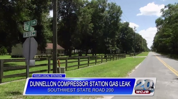 Dunnellon Compressor Station Gas Leak