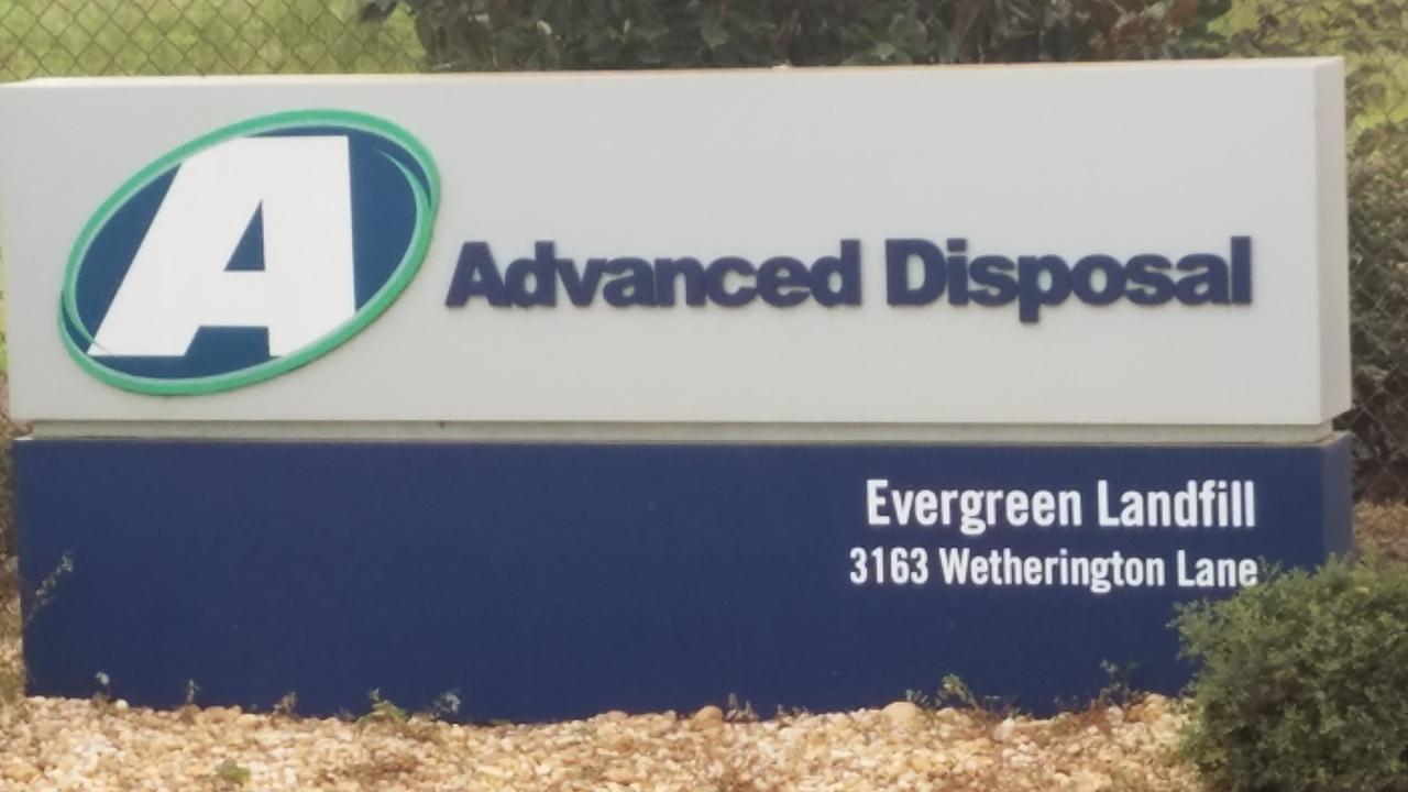1280x720 Advanced Disposal, Evergreen Landfill, 3163 Wetherington Lane 30.8223694, -83.3597911, in Landfill Solar, by John S. Quarterman, 25 July 2017
