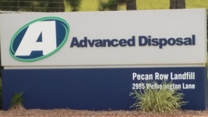 Closeup, Advanced Disposal, Pecan Row Landfill, 2995 Wetherington Lane 30.8162757, -83.3598545