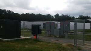 Solar electrical equipment 30.8234029, -83.3596398