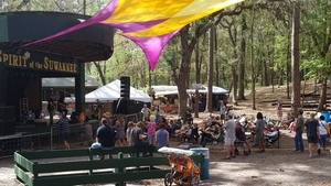 Amphitheater, Spirit of the Suwannee Music Park