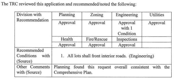 TRC table of recommendations, REZ-2017-19 Register Estate