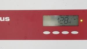 Lower bank 128W, Inverters