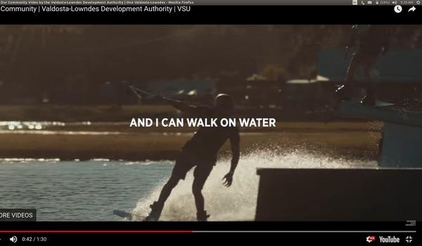 Walk on Water, Video