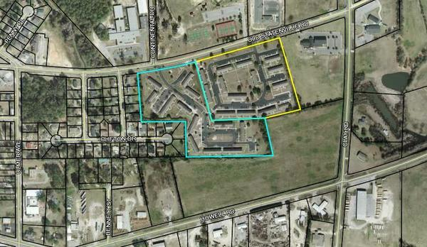 1110 and 1150 Old Statenville Road, Map
