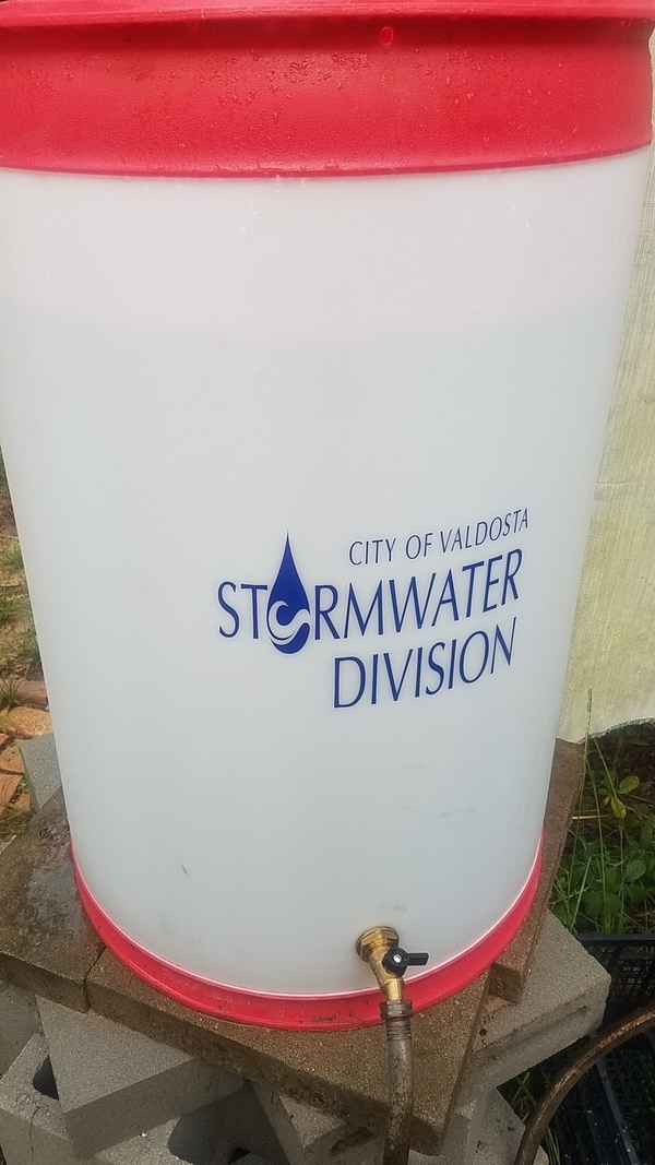 City of Valdosta Stormwater Division, Raining