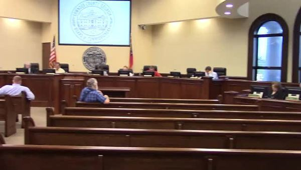 7. Reports â?? County Manager: two new agenda items about a Hahira annexation, Joe Pritchard, County Manager