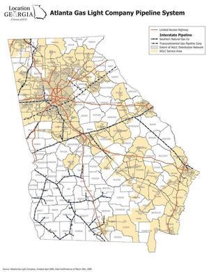 Georgia, AGL Map