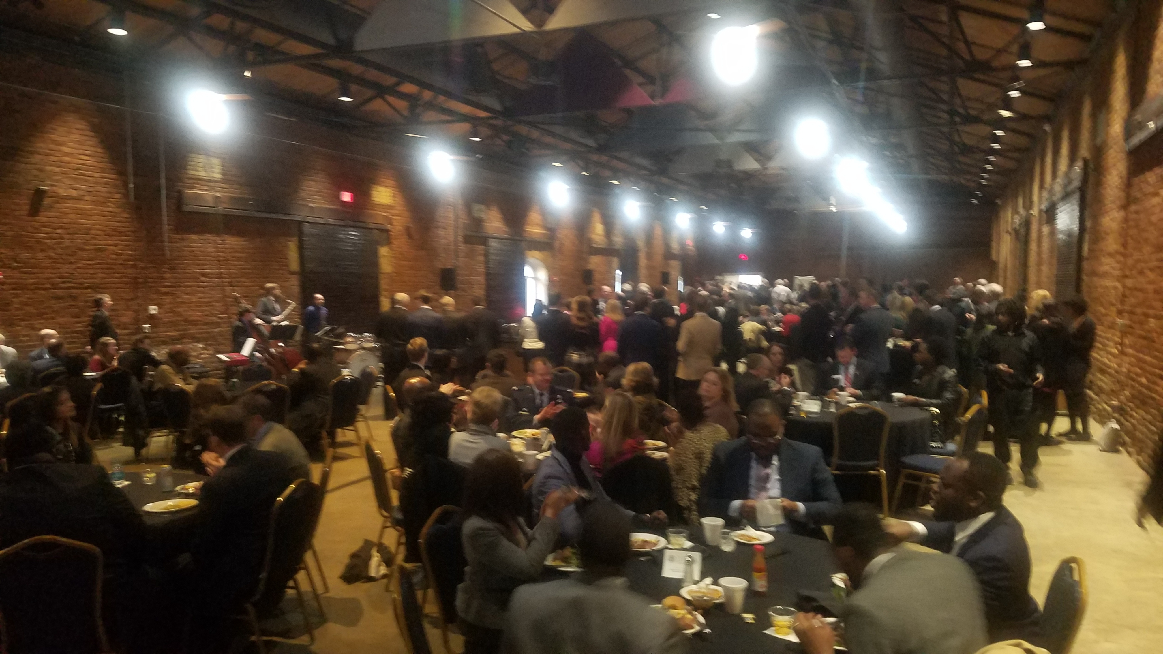 4032x2268 Packed house, Inside, in Lowndes County Bird Supper, Atlanta, GA, by John S. Quarterman, for www.l-a-k-e.org, 13 February 2019
