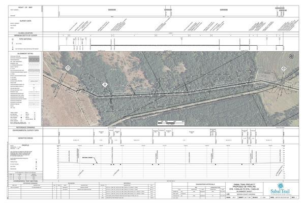 Sabal Trail alignment map 1657-PL-DG-70197-221