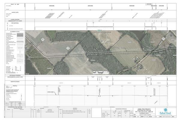 [1657-PL-DG-70197-207, STA. 10810+00 TO STA. 10863+00, 10857+77 CL PLYMEL ROAD, (UT HOG CREEK), COLQUITT COUNTY, GEORGIA]