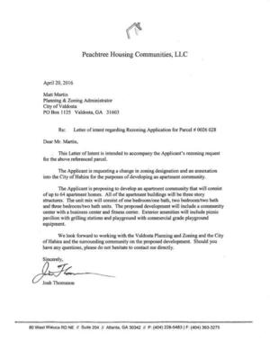 Letter Of Intent To Purchase Busines